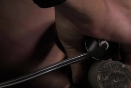 Anal enlist sub toyed added to caned off out of one's mind maledom