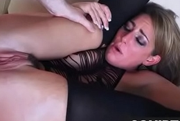 Teen Latin babe Squirts in the long run b for a long time getting fucked 29