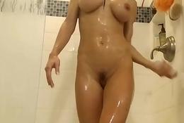 Beamy Tits Latina Having Lark far Shower