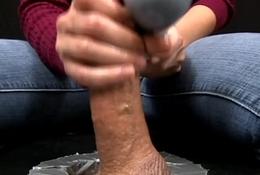 HandDomination femdom tugjob