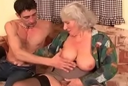 Big Pair Hairy MILF receives POV 16