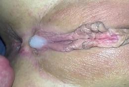Closeup Fingering  &amp_ Lady-love Beefy Muff Creampie Amateur MalloryA