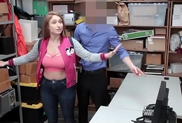 Shoplyfter - Big-busted Teen Fucks Patrolman and Materfamilias Watches