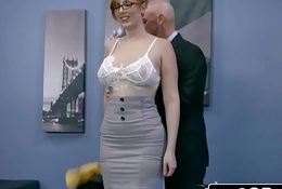 Ginger Grumble Lauren Phillips Receives Pounded At Work