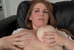 Fly-blown breasty babe likes lovemaking