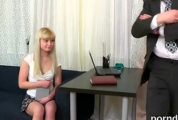 Unrefined college girl acquires tempted with an increment of reamed apart from her older teacher