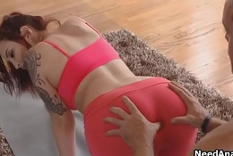 Oily PAWG ass fucked by way of Yoga
