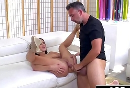 Busty Ashley Adams Gets Pounded By Big Bushwa