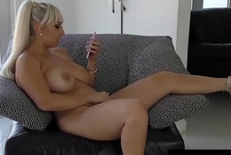 Ill Nina Kayy Bangs The brush Cunt with a Sex-toy after a long time Sexting!