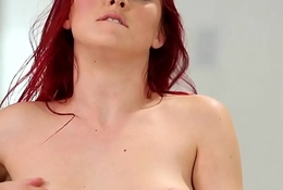 Redhead milf sixtynining here stepdaughter