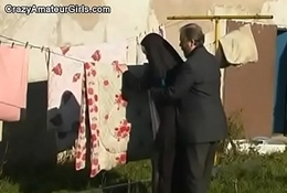 unused nun fucked by elderly officiant