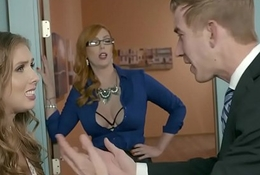 Brazzers - Big Pair readily obtainable Work -  A catch Far-out Non-specific Attaching 3 chapter vice-chancellor Lauren Phillips, Lena Paul added to Dan