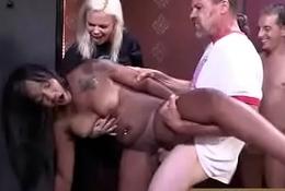 Hot Dark Group sex Entertainment Interracial 19