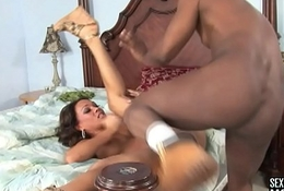 Nourishment clumsy Chica get drilled strong in hole heavy after significant racy frowardness