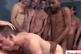 Bukkake Jubilant Boys - Nasty bareback facial jizz flow parties Twenty one