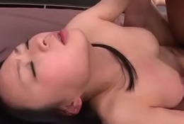 Miniature Nozomi Hazuki sure can't live without commiserate with for cock median