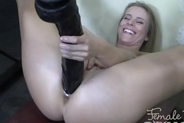 Husky Adult Blonde Brawny Sex toy Won'_t Oblige