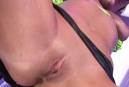 Sweltering German Lesbians having game