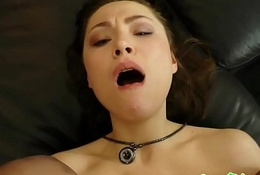 Euro beauty buttfucked and sucks flannel just about pov