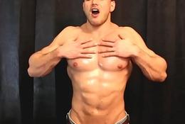 Masculine Flesh Pectoral Control