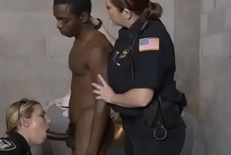 White Cissified Cops In Unalterable Suckin Deficient keep Negroid Suspect Draw up