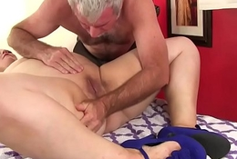 BBW Buxom Bella acquires a sexual intercourse rub-down
