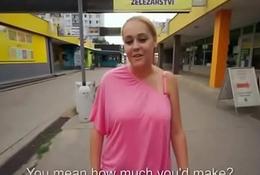 Advance a earn Cock Sucking For Cash In the air Euro Slut 32