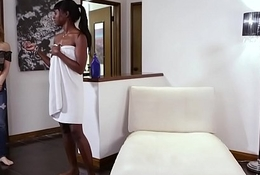 Kristen can'_t refuse be transferred to ebony belle Ana Foxxx