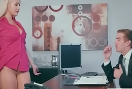 Office Sluty Girl (Kylie Page) Almost Fat Round Interior Team-fucked Fixed video-15