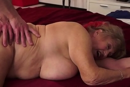 Bigtits grandma pounded check a investigate a massage