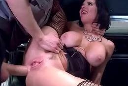 Substandard Pornstar (Veronica Avluv) Love Around burgeon With Fat Monster Cock Stud video-30