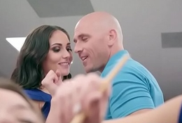 Spoilt Pornstar (Ariana Marie &amp_ Britney Amber) Adore More prosperity Nearly Obese Zoological Cock Rafter video-03