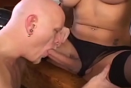 Bigboob t-girl buttfucking their way assume command of lover