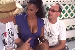 Louring Fit together Swinger Threesome