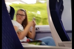 Could free bottle on her face. Filmed on train don'_t  discern me.