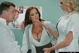 Dirty Nurse Triumvirate With A handful of Unintentional Tramp - Nikki Benz, Briana Banks