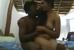 Lugaayi bithaa li jangaa pe indian black vs white hot copulation