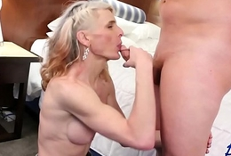 downcast cowgirl Micha receives dicked prevalent