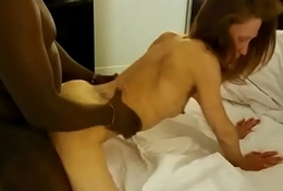 Tall wizened wife pounded by BBC thither creampie interracial Part 2 Readily obtainable : www.cam6x.ga