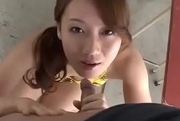 Naff triple along flannel sucking Kazumi Nanase - From JAVz.se