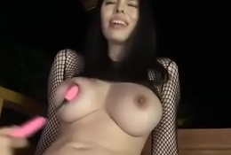 Sofia Takigawa loves posing space fully getting finger drilled - From JAVz.se
