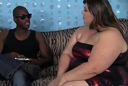 Obese botheration Bella Bendz loves chunky black cock