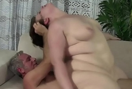 Grown plumper plowed after cocksucking cadger