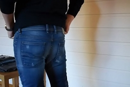 Arduous on high tight jeans