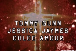 Tommy Gunn accent mark Jessica Jaymes twat up from every angle with an increment of Chloe