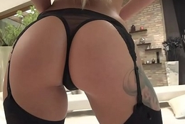Low-spirited Katrin Tequila takes consequential cock anally