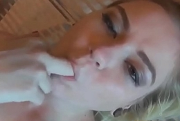 U cum mainly Chloe Fosters complexion after a POV practicable assignation - WWW.SWEETCAMS.TK