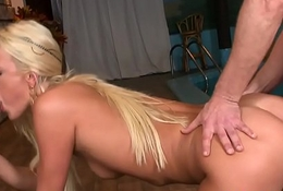 European stunner DP fucked at hand the addition of fed at hand cum
