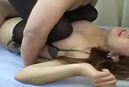Japanese milf teased with an increment of fucked