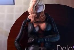 FapZone // Rachel Foley (Resident Evil Revelations)